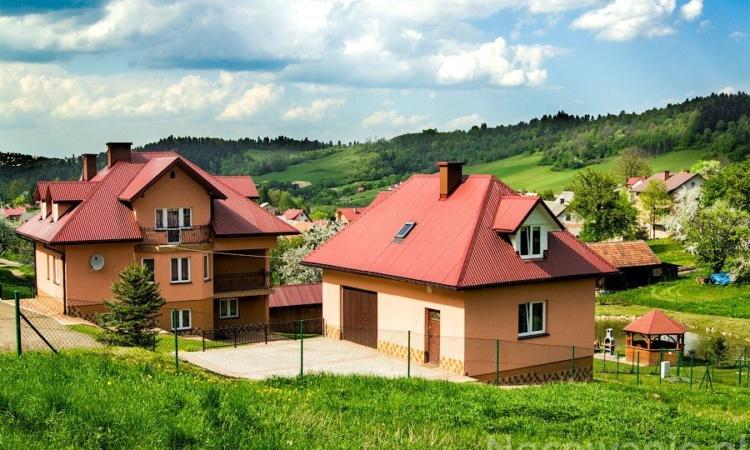 Pokoje z łazienkami i domek Nad Stawem Jezioro Solińskie Bieszczady
