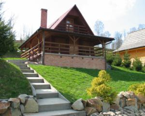 Domek w Olchowcu nad Soliną Bieszczady