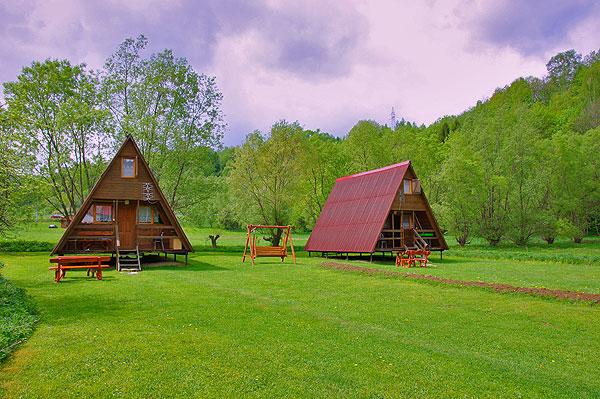 Domki wypoczynkowe Bukowiec Bieszczady nad Soliną
