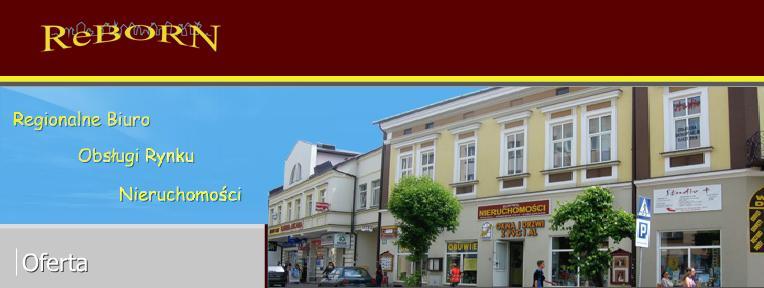 Biuro nieruchomości Reborn Sanok Bieszczady