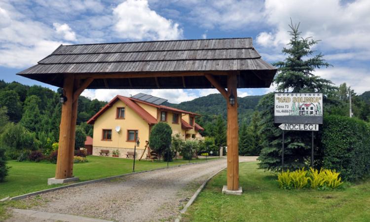 Nad Solinką Cisna Bieszczady