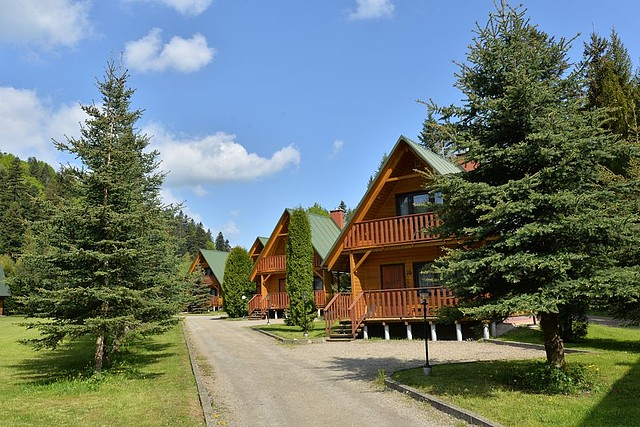 Leśna Polana domki w Bystrem Bieszczady