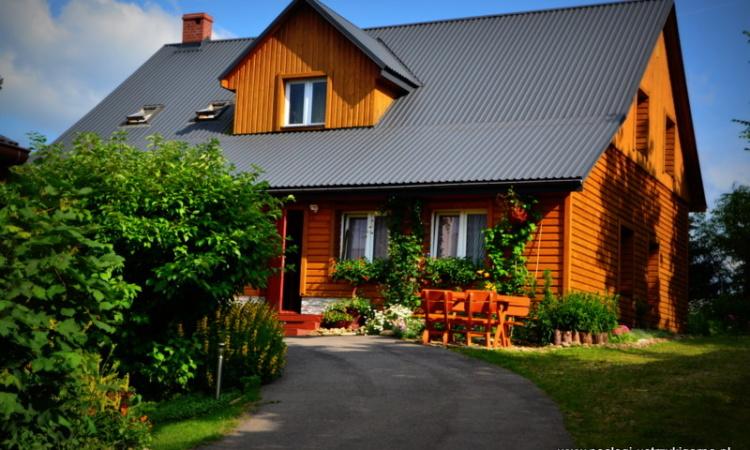 Dom w Ustrzykach Górnych noclegi w Bieszczadach