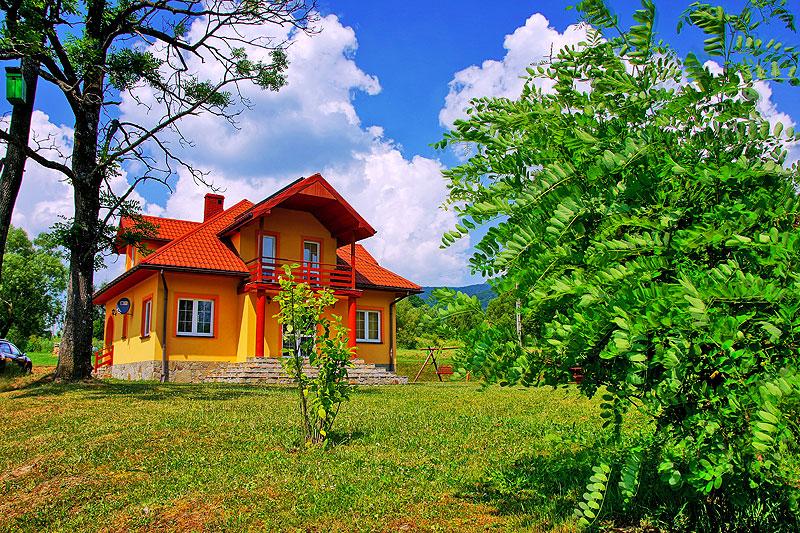 Zielone Wzgórze Wetlina noclegi Bieszczady