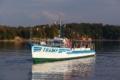 Statek spacerowy Tramp w Polańczyku Bieszczady