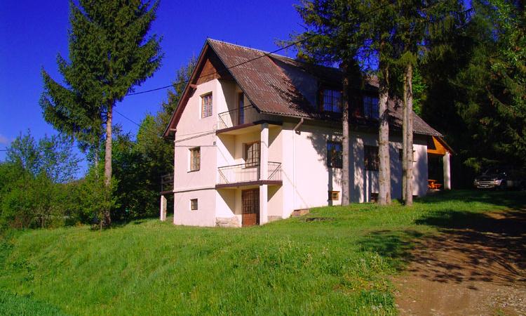 Dom w Wołkowja Bieszczady Solina