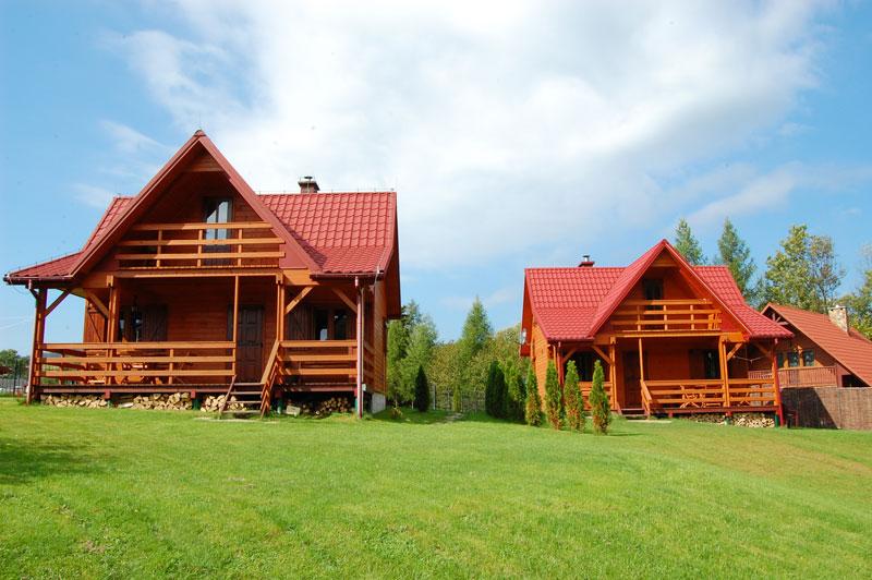 Komfortowe domki w Bukowcu, noclegi w Bieszczadach