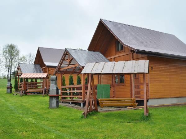 Domki nad Solinką Bukowiec Bieszczady noclegi
