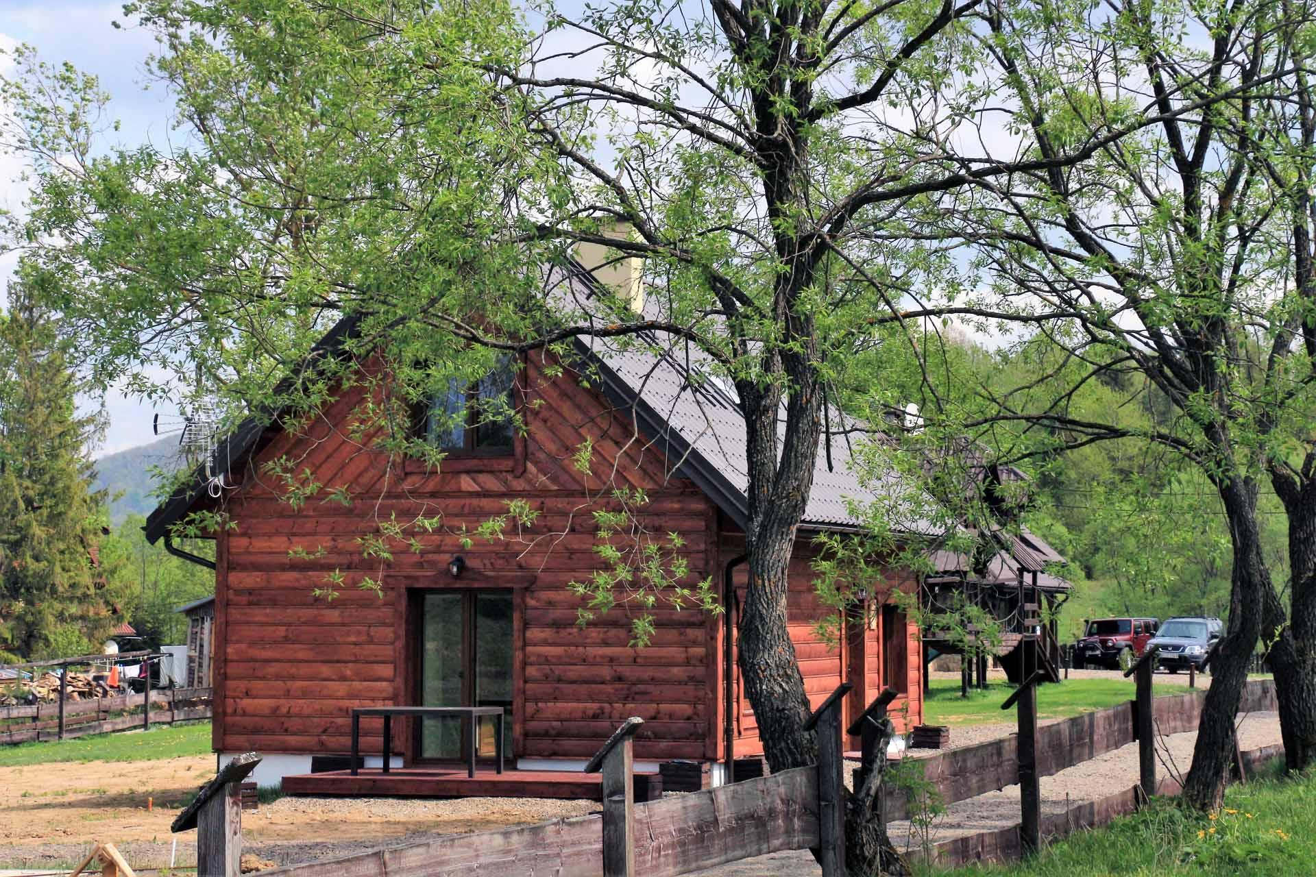 Chata Rysia Strzebowiska Bieszczady noclegi
