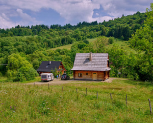 Chaty i domki Dolina Sanu noclegi Bieszczady