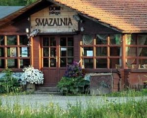Dom Pstrąga Przysłup łowisko i smażalnia Bieszczady