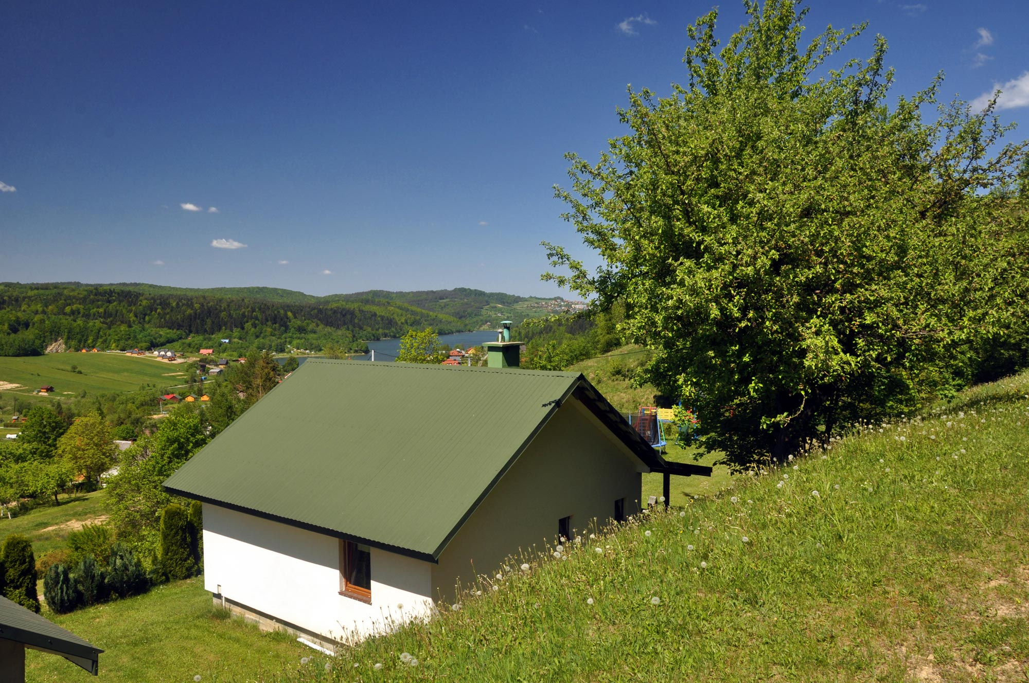 Domki na Wzgórzu Zawóz, noclegi nad Soliną