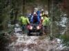 Trudna akcja GOPR w lesie