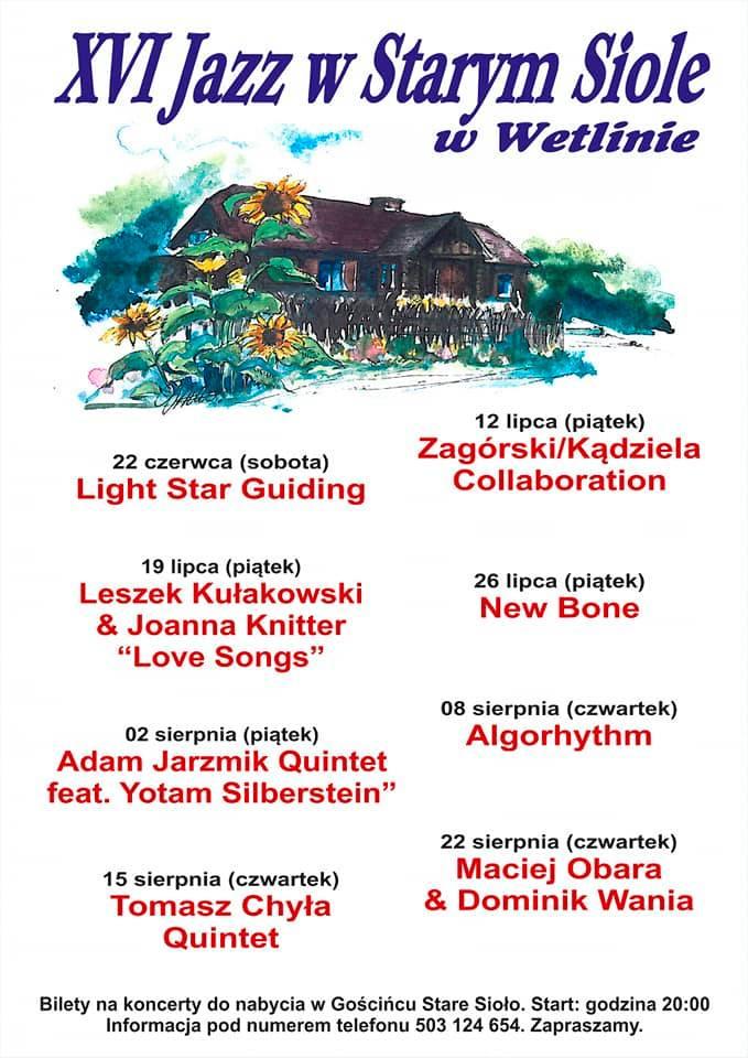 Bieszczady - Jazz w Starym Siole - Wetlina