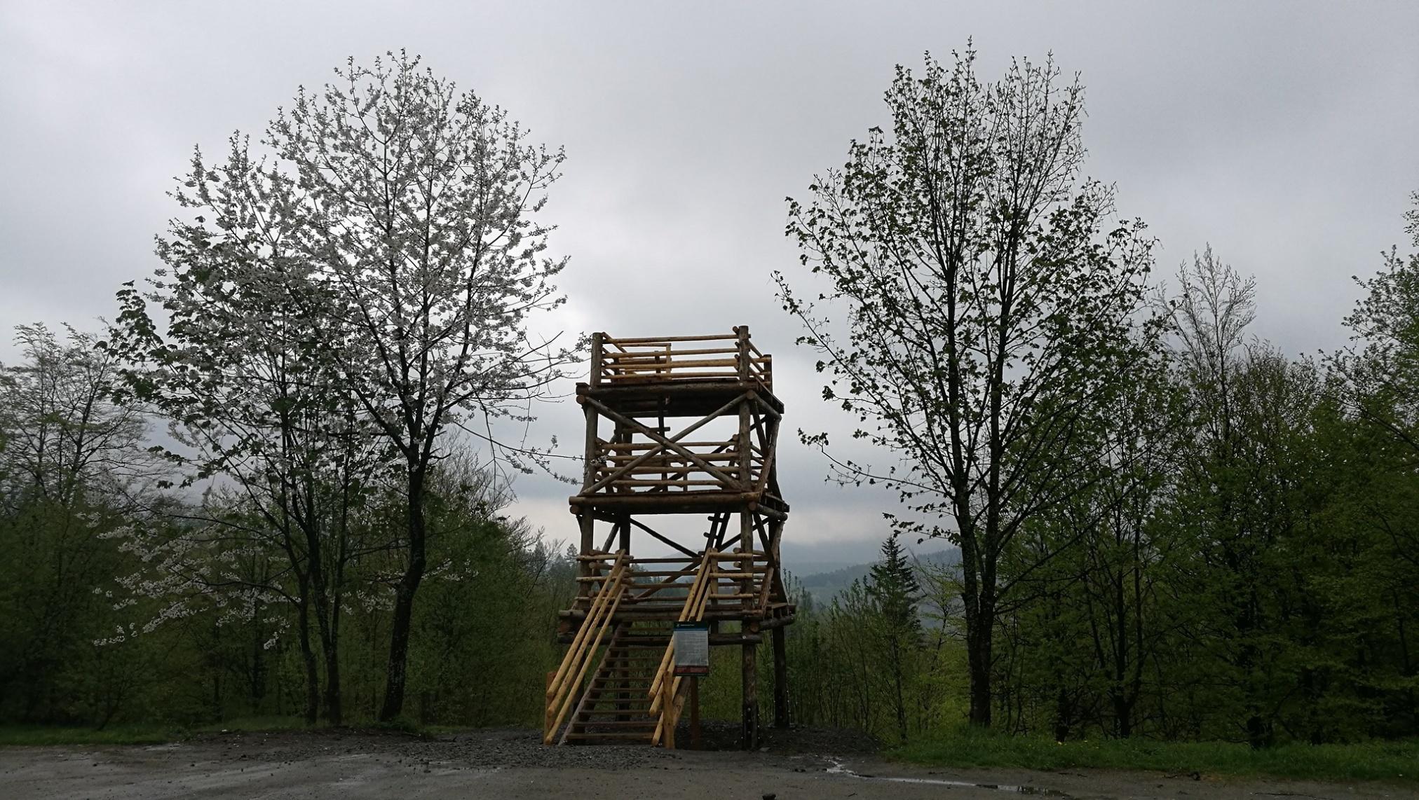 Platforma widokowa Szczerbanówka